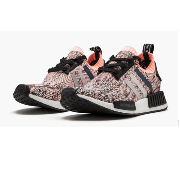 198c3dae4 Adidas NMD R1 Prime Knit Sun Glow Pink Camo BB2361